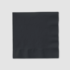 Black_Cocktail_Napkins_catering