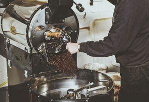 Coffee-bean-roasting-machine