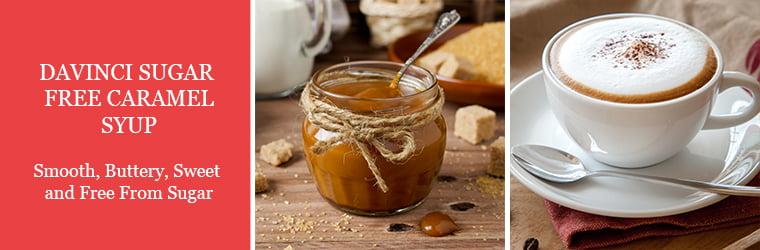 DaVinci Gourmet Sugar Free Caramel Syrup