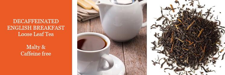 Decaf English Breakfast Tea Loose Leaf