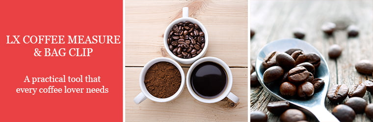 LX Coffee Measure & Bag Clip