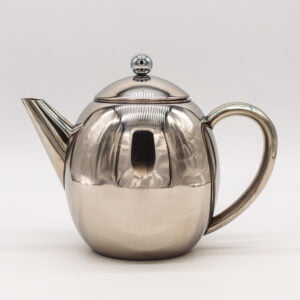 Rondeo 1.2L Double Walled Teapot Stainless Steel