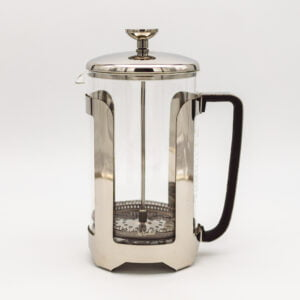 Classic Stainless Steel & Glass Cafetiere
