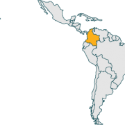 columbia coffee origin map