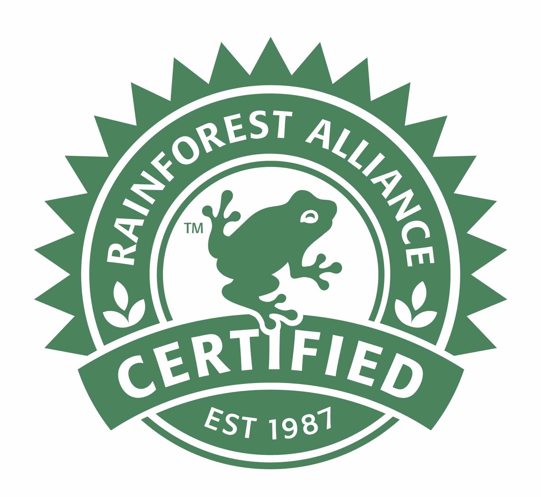 eco coffee roasters certified rainforest alliance