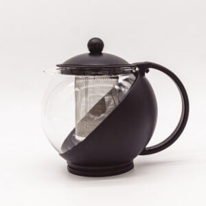Everyday Black & Glass Infuser Teapot
