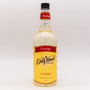 DaVinci Orange Syrup 1 LItre