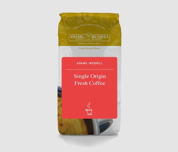 single origin fresh roasted coffee