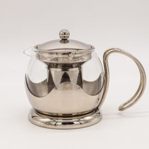 LeTeapot Stainless Steel & Glass
