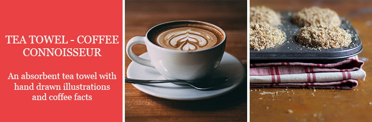 tea towel coffee connoisseur
