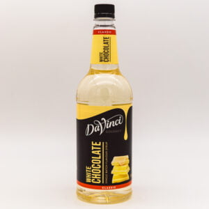 DaVinci White Chocolate Syrup 1 Litre