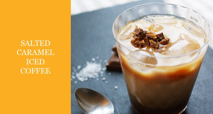 salted caramel iced coffee recipe