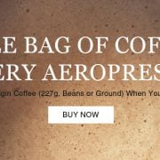 Free Coffee With Aeropress