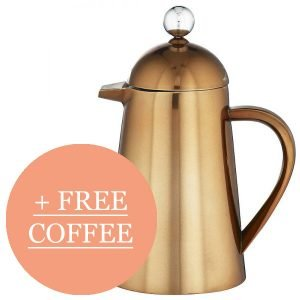 Free coffee when you order this cafetiere