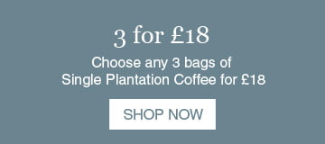 Fresh Coffee Offer - 3 for £18