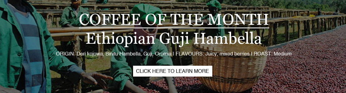 Aug Coffee of Month Banner