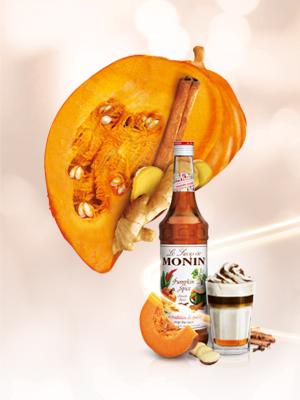 Monin Pumpkin syrup
