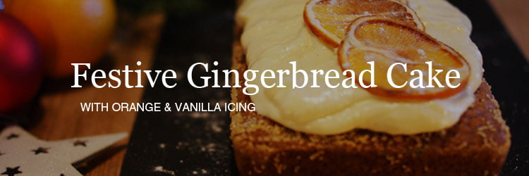 Recipe for Christmas gingerbread coffee cake