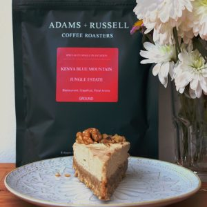 Easy Mother's Day Recipe – Coffee and Walnut Cheesecake
