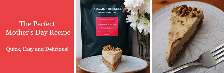 The perfect Mothers day coffee cheesecake recipe