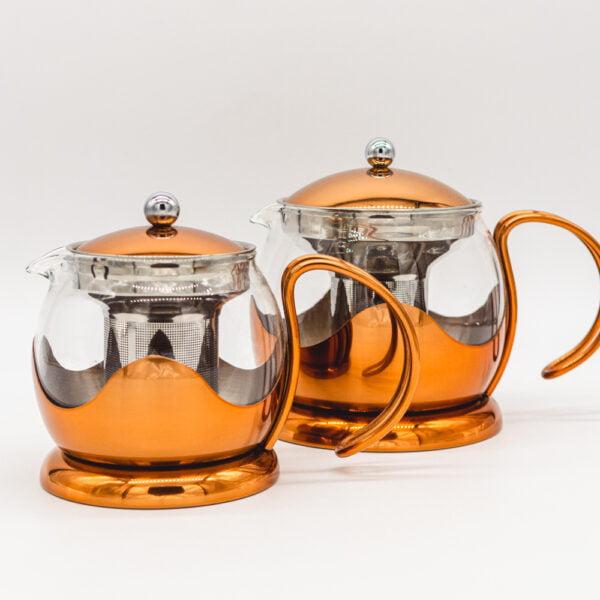 copper le teapot set