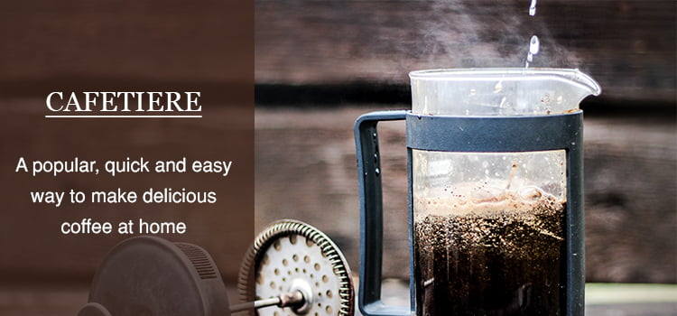 Cafetiere coffee maker