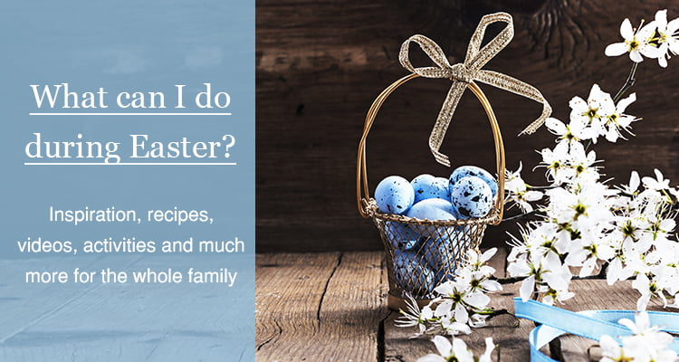 Easter inspiration for baking and activities