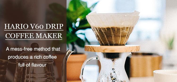 Hario V60 coffee drip maker