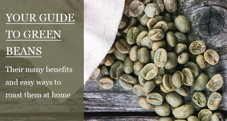 how to roast green coffee beans
