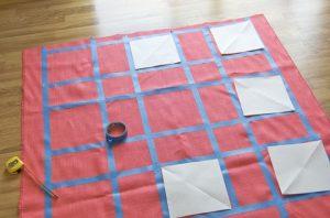DIY patterned rug