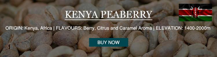 Kenya Peaberry single origin coffee