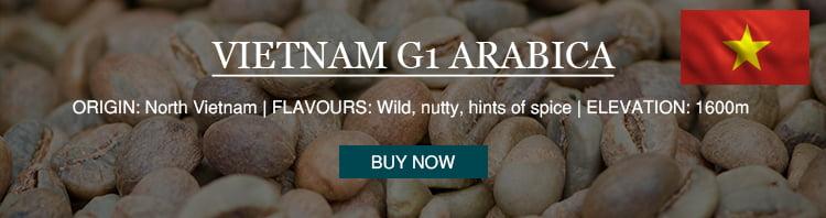 Vietnam G1 Arabica single origin coffee