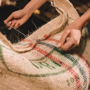 How to work with Hessian coffee sacks and DIY inspiration