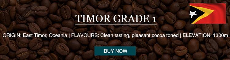 timor grade 1 low acid beans