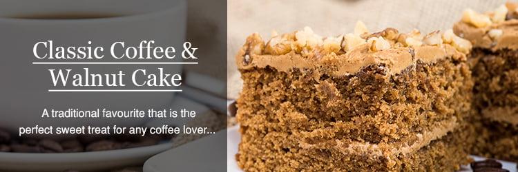 how to make coffee and walnut cake