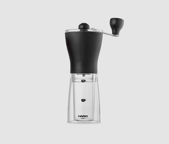 Hario mini hand coffee grinder