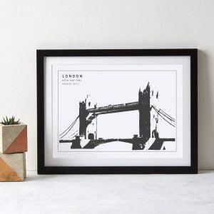 Betsy Benn Tower of London Print