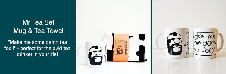 Mr T Tea Gift Set