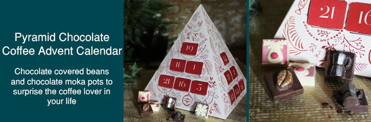 Pyramid Chocolate Coffee Advent Calendar