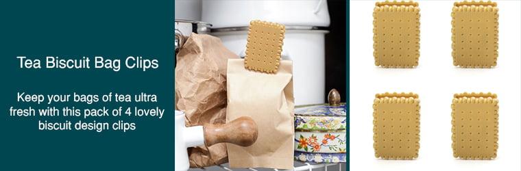 Tea Biscuit Bag Clips