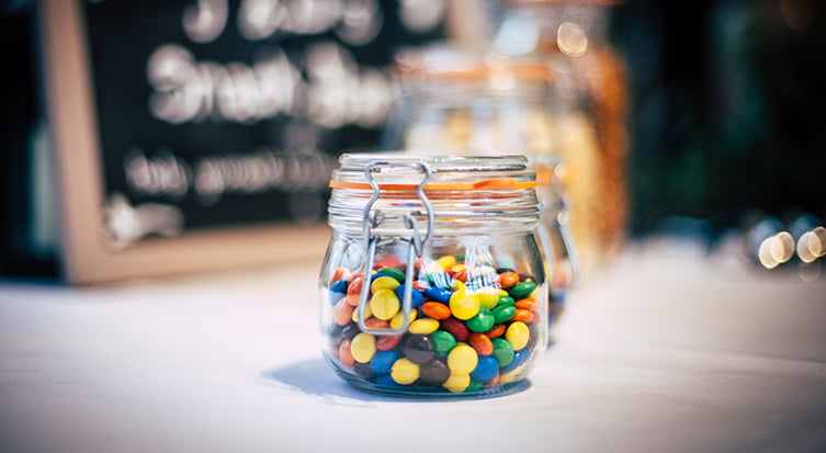 Guess the jar of sweets