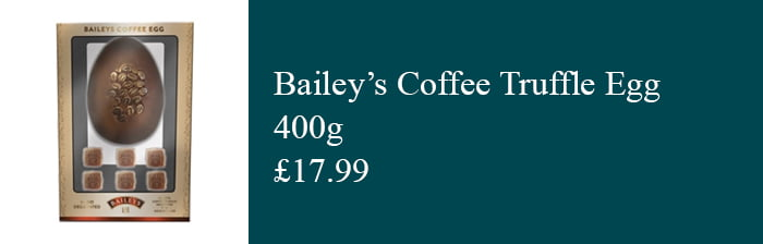 Bailey's Coffee Easter Egg
