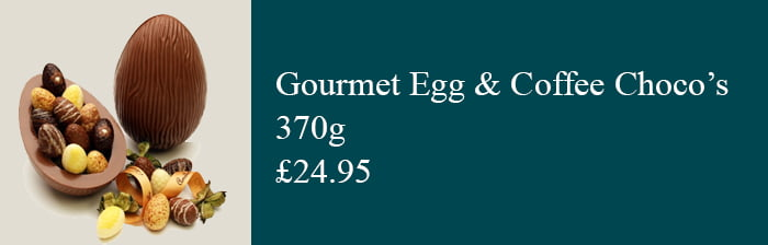 Gourmet Easter Egg Coffee Chocolates