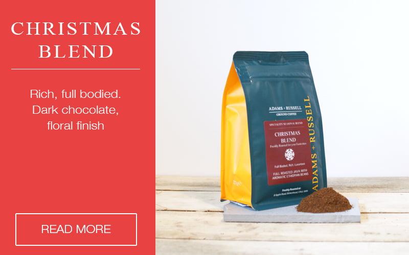 Christmas Blend Coffee Blog Listing