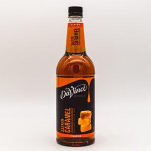 DaVinci Salted Caramel Syrup 1 Litre