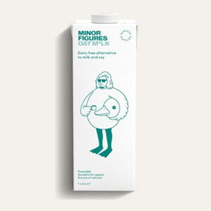 6 x Oat Milk Cartons by Minor Figures
