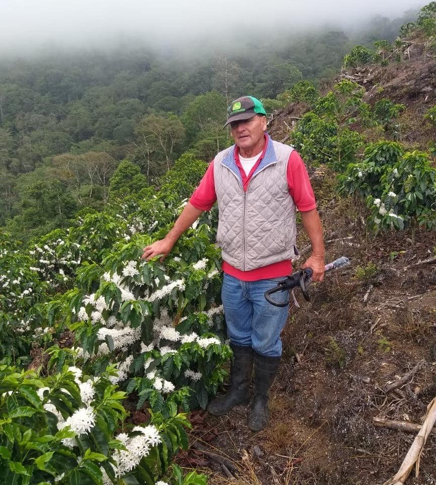 Carlos Hidalgo Geisha Coffee Grower