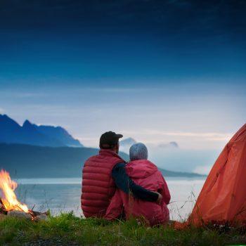 coffee camping valentine