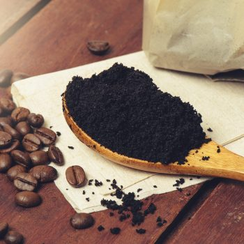 How can I use used coffee grounds in the home and garden?